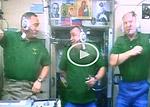 Саратовцы дозвонились до орбитальной станции (видео)