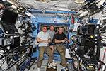 Конференция между руководителем полета и экипажем МКС