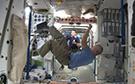 В преддверии ЧМ астронавты сыграли в космический футбол на МКС
