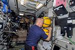 Работы после окончания выхода в космос