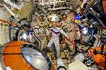 Запись видеоинтервью для Роскосмоса про специальную парашютную подготовку космонавтов.