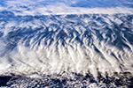 Облака над Южной Америкой