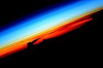 Восход солнца на МКС