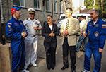 Встреча 40-го и 41-го экипажей МКС в Звёзном Городке