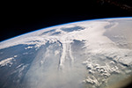 Облака над Камчаткой
