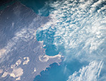 Аргентина, Spiring Bay под облаками