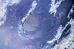 Пролетаем над озером Балхаш