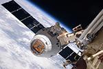 Стыковка SpaceX Dragon с МКС