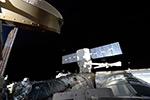 Отстыковка грузовика Dragon миссии CRS-14 от МКС