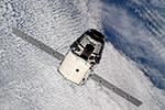 Прибытие грузовика SpaceX Dragon