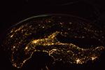 Свет ночных городов Земли